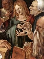 Gesù tra i dottori, il computo manuale