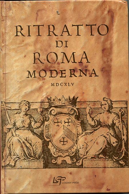 RITRATTO DI ROMA MODERNA