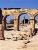 La porta domizianea. Hierapolis di Frigia