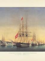 La Marina Ottomana che bombarda Odessa